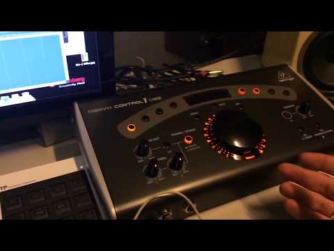 Behringer Xenyx Control1 USB in my studio (review) Please SUBRSCIBE to my channel