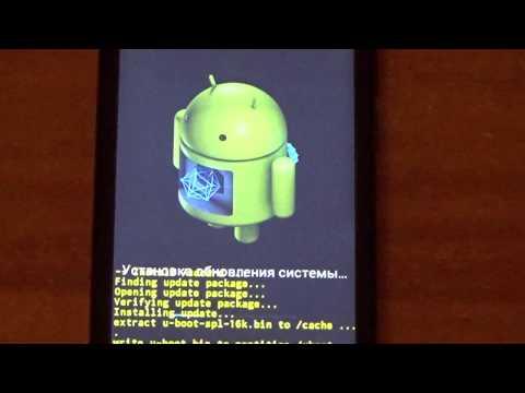 Прошивка Fly FS451 Nimbus 1 на Android 4.4.2 при помощи Micro SD