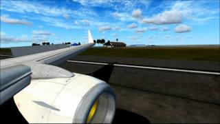preview picture of video 'FSX - Malé Int. Airport Landing HD'