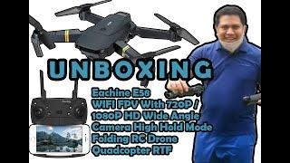 Unboxing My Drone - Eachine E58 WIFI FPV