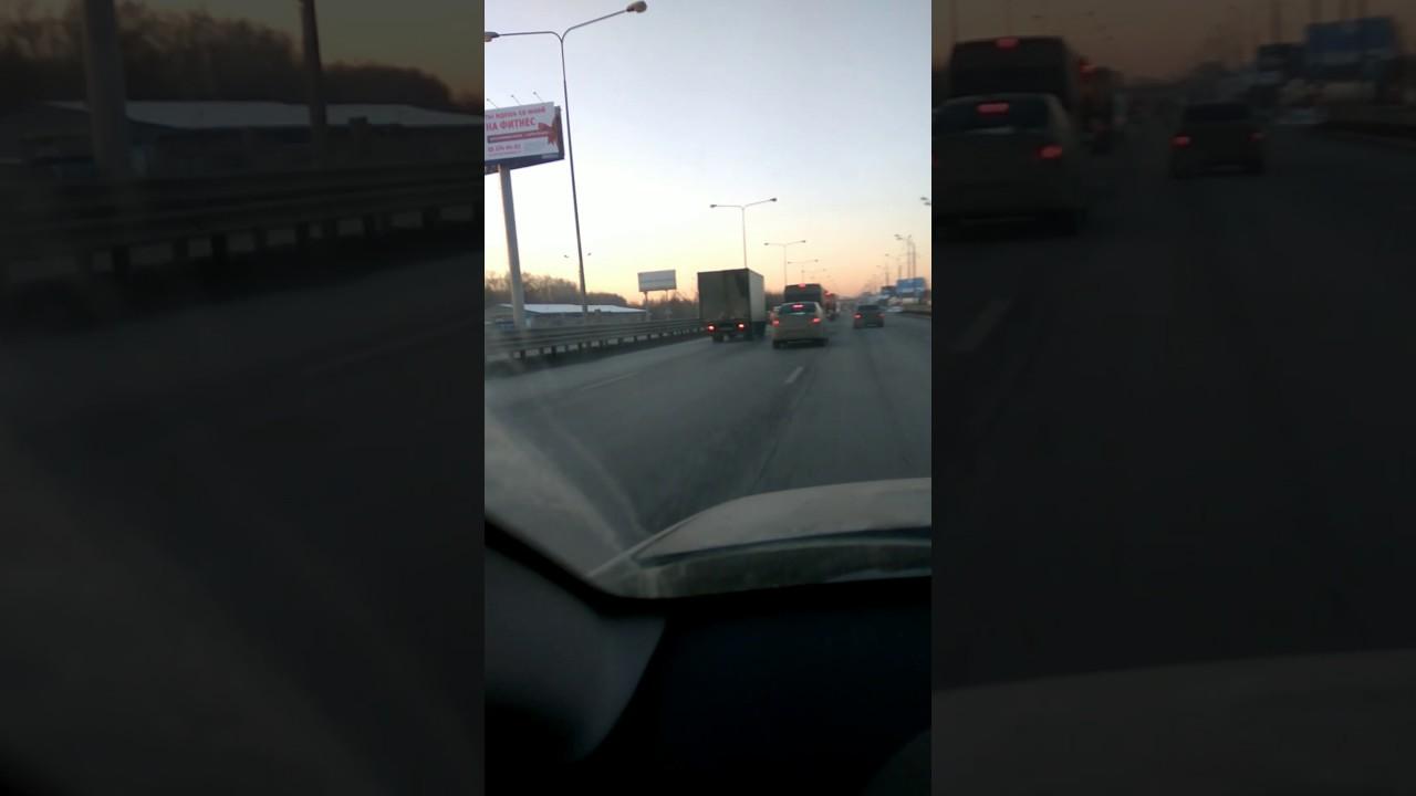 Дорожный конфликт на Новорязанке