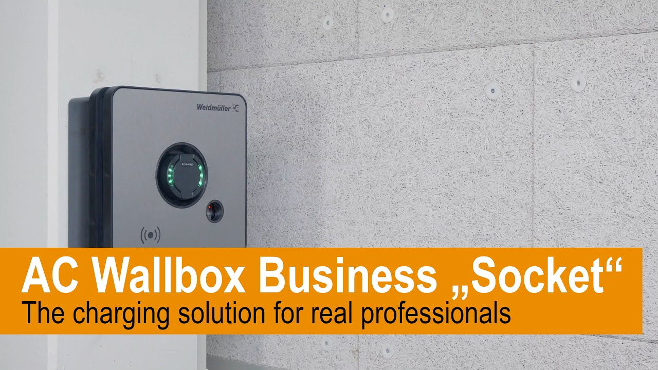 We show you the simple installation of the AC Wallbox BUSINESS Socket variant.