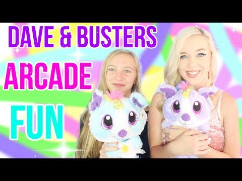 Arcade Fun at Dave & Busters! Jackpots, Games & PRIZES!