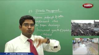 Disaster Management - Class 9th State Board Syllabus Social Studies