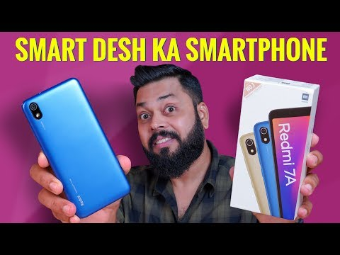 Redmi 7A Indian Retail Unit Unboxing ⚡ Sabse Accha Entry Level Smartphone? Sirf ₹5799