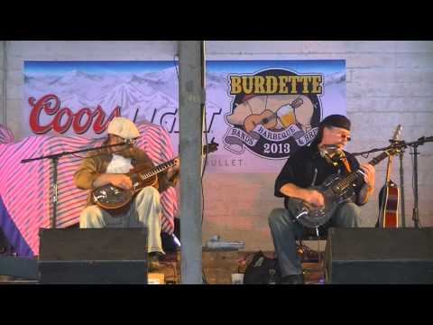 Rigdon and Gatewood   Burdette BBQ Bands and Brew 2013   - 1