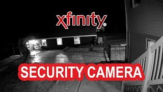 👮🎥 Xfinity Security Camera Example - Night 🎥👮
