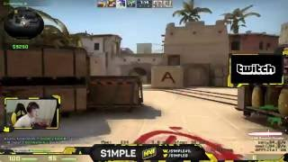 CS:GO - s1mple 42 kills on Mirage @ FPL - Free video search
