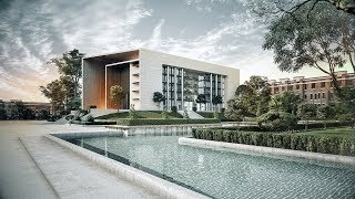 Making a Building in 3dsmax and Vray - Architecture Visualisation