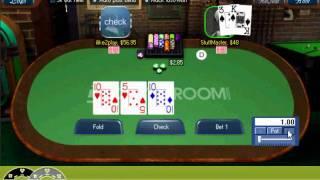 Online Poker  Heads-up Cash Game NL50 Texas Holdem
