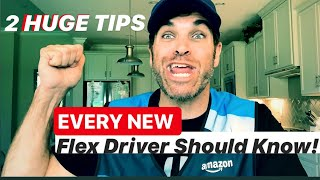 2 HUGE TIME SAVING TIPS EVERY NEW AMAZON FLEX DRIVER SHOULD KNOW BEFORE DOING ANOTHER BLOCK 📦 🚗