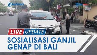 Terapkan Aturan Ganjil-Genap, Pemprov Bali Lakukan Sosialisasi selama Seminggu di Pantai Sanur