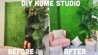 VLOG: DIY AT HOME PHOTOGRAPHY STUDIO