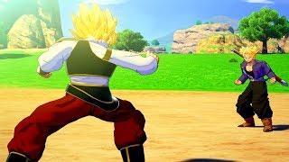 Dragon Ball Z: Kakarot - Future Trunks Meets & Fights vs Goku Cutscene (DBZK 2020) Ps4 Pro