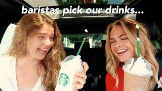 Letting Starbucks Baristas Pick our Drinks for a Week...