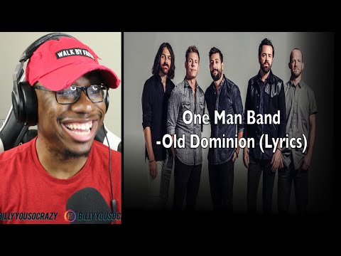 Old Dominion - One Man Band REACTION!