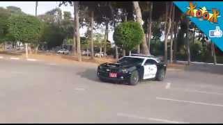 ניידת המשטרה החדשה של משטרת התנועה שברולט קאמרו