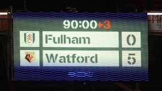 HIGHLIGHTS: Fulham 0-5 Watford