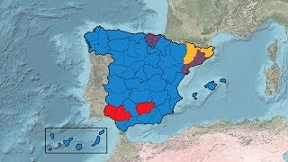 Spanish General Election Results (1977-2016)