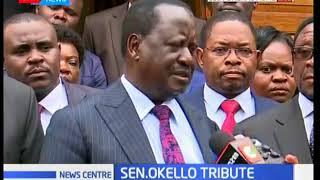 Raila Odinga's emotionally eulogises Senator Ben Okello