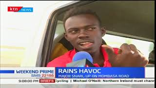 Rains cause major havoc along Mombasa-Nairobi highway