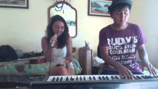 El perdón Nicky Jam cover acústico completo by Alexandra and Misael guitarra y piano