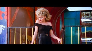 Sandy (Olivia Newton John) Sexy In Spandex From Grease 1978 New Remastered In HD