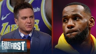 LeBron needs to be intimately involved in the recruiting process - Mannix   NBA   FIRST THINGS FIRST