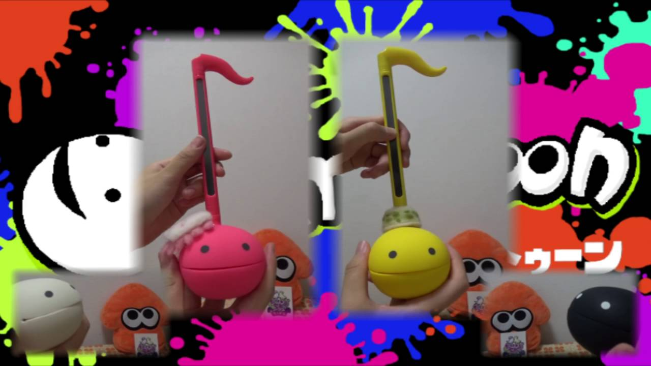 "[Otamatone] ""Ink Me Up (キミ色に染めて) ~ Now or Never! (イマ・ヌラネバー!)"" from Splatoon"