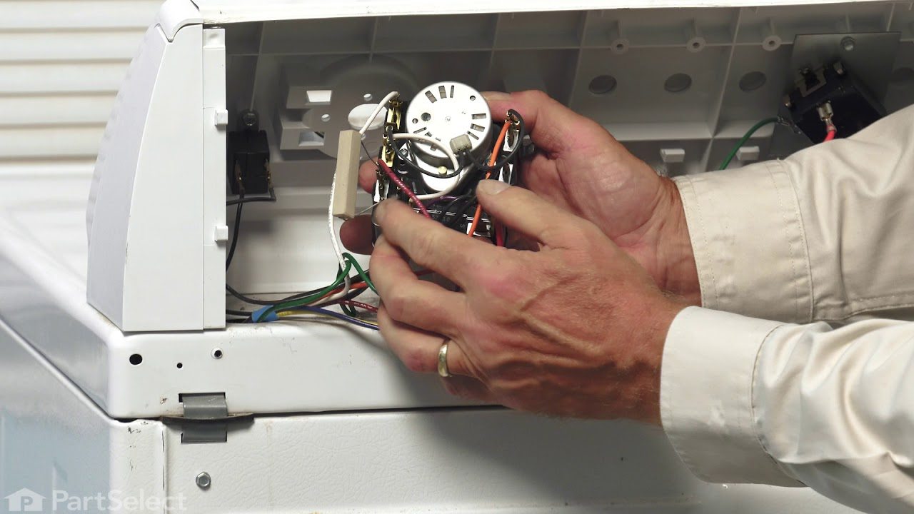 Replacing your Maytag Dryer Timer Assembly