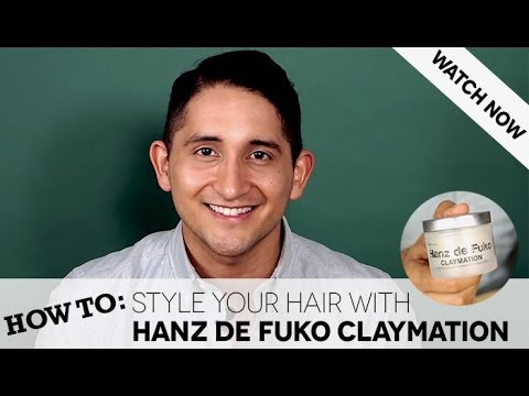 How To: Style Your Hair with Hanz de Fuko Claymation