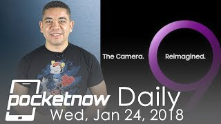 Samsung Galaxy S9 Unpacked official, iPhone X 2018 with LCD & more - Pocketnow Daily