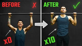 How To Increase Your Pull-Ups From 0 to 10+ Reps FAST (3 Science-Based Tips)