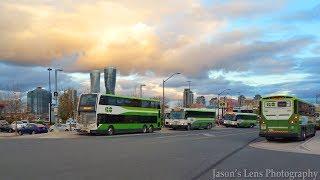 Mississauga to Oakville Go Bus Ride