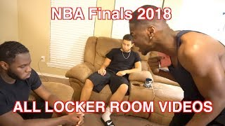 NBA FINALS 2018 ALL LEBRON IN THE LOCKER ROOM VIDEOS! (FULL VERSION FROM ORIGINAL CREATOR)