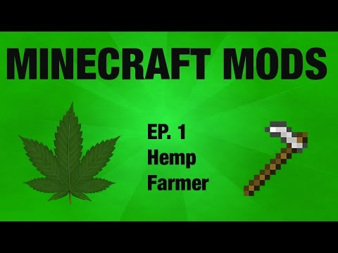 Minecraft Hemp Farmer Mod
