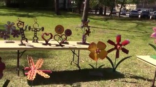 Upcycling Garden Art Whimisical By Raymond Guest