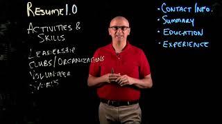 Resume 1.0 - Activities and Skills
