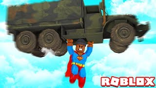 BECOMING A SUPER HERO IN ROBLOX