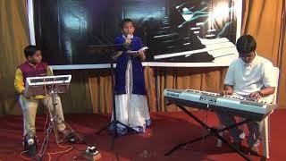 సృష్టికర్త యేసు దేవా Srushti Kartha Yesu Deva Song ( Children's Performance )