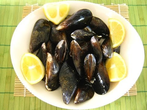 Pulire le cozze - How to Clean Mussels