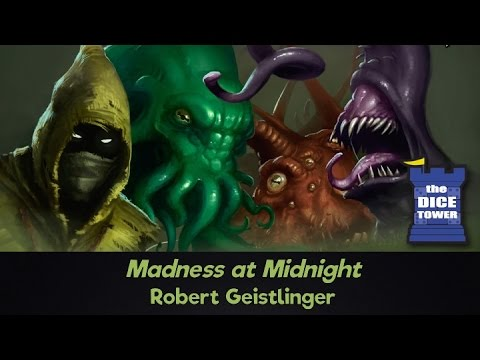 Madness at Midnight Review - with Robert Geistlinger