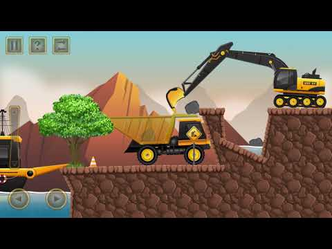 Construction city 2 game control special equipment tipper, boat, pickup