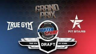 Драфт финала Vortex Sport Grand Prix. Выбор упражнений и атлетов