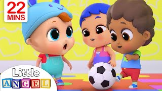 Playtime with Friends | Little Angel Nursery Rhymes and Kids Songs