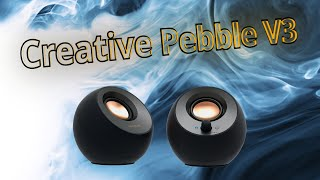 Creative Pebble V3 | kompakte USB-C/Bluetooth Lautsprecher für gerade mal 38€