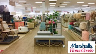 MARSHALLS HOMEGOODS FURNITURE ARMCHAIRS CHAIRS TABLES DECOR SHOP WITH ME SHOPPING STORE WALK THROUGH
