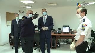 Preşedintele Iohannis şi premierul Orban vizitează Centrul Naţional de Conducere şi Coordonare a Intervenţiei