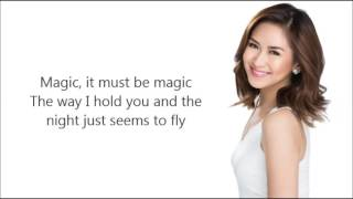 Sarah Geronimo - I Just Fall In Love Again  Lyrics