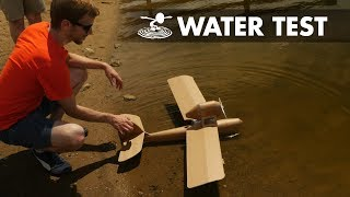Will it float? Porco Rosso ANIME AIRPLANE Prototyping V2 - Video Youtube